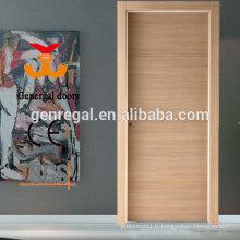 Portes HPL intérieures en bois résistant aux égratignures