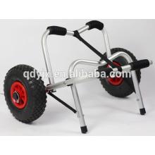 chariot de kayak avec béquille en u et pare-chocs mousse souple YJX02004