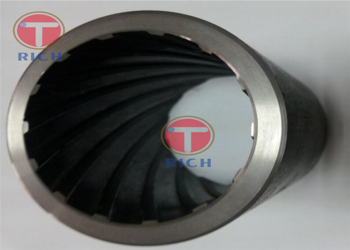 Ribbed Tubes Polishing Seamless Round Special Steel Pipe