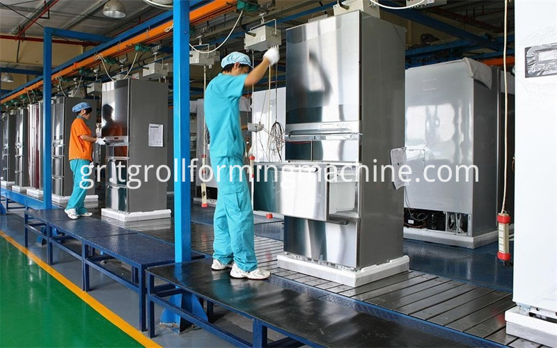 Refrigerator Metal Panels Sheet Metal Forming