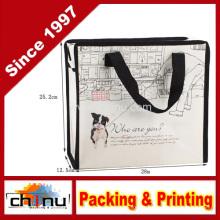 Promoção embalagem de compras não tecidos saco (920063)