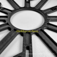 Plaque en fibre de carbone de clavier mécanique de haute qualité à vendre
