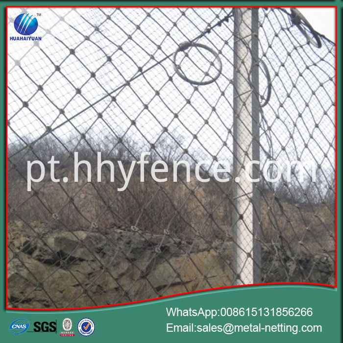 Rock Fall Fence
