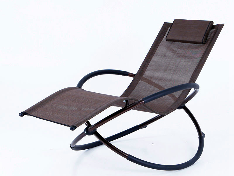 foldable rocking chair steel frame