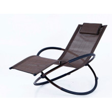 High Quality for Garden Sun Loungers foldable rocking chair steel frame supply to Botswana Suppliers