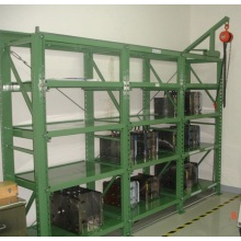 Mold Storage Shelves for Injection Molds Display