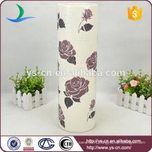 Beautiful Chaozhou Ceramic Vase , China Hand made Vase For Decor