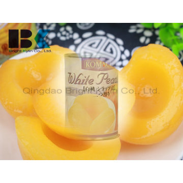 Canned Yellow Peach in Syrup Banker