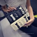 Portefeuille mignon d'impression pour le nouveau sac à main de dames de dames de mode