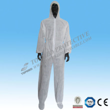 Non-Woven Safety PP Nonwoven Waterproof Coverall