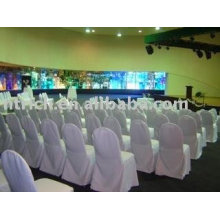 Banquet/hotel chair cover,100%polyester chair cover