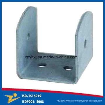 Supports en métal OEM en forme de U