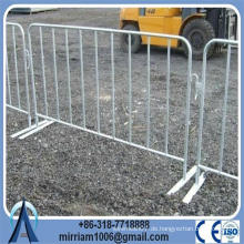 Heiße Verkauf Fabrik heiß getaucht galvanisierte Metall Fußgänger Menge Kontrolle Barrieren (Herstellung seit 1989)