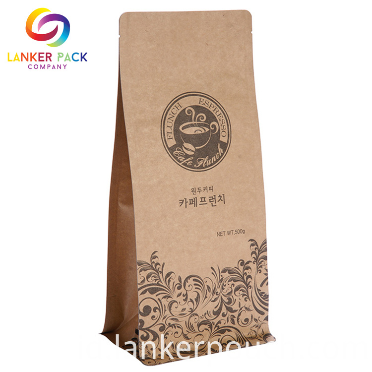 Eco Friendly Custom Kraft Paper For Coffee Packaging