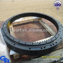 Rolamento giratório de precisão, roda giratória rolamento de rolamento anel giratório