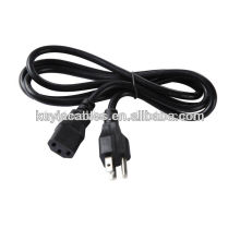 Plug 2-Prong Port Cable de cable de alimentación para portátil Ps2 Ps3