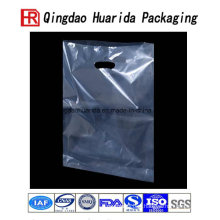 Diecut PE Plastic Shopping Carrier Bag