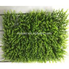 Cheap 40 * 60 cm estera de follaje artificial para decoración de pared vertical