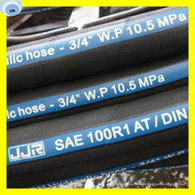 Tuyau en caoutchouc de carburant d'huile de tuyau de caoutchouc hydraulique de 5mm