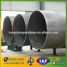 SSAW große Durchmesser Spirale geschweißt Stahlrohr, Rohr Hersteller