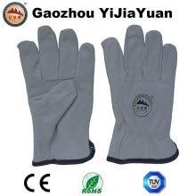 Goat Grain Leather Guantes de conducción industrial para conductores