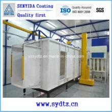 Sala de pintura de máquinas de equipamentos de linha de revestimento a pó