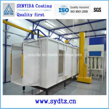 Salle de peinture de machine d'équipement de ligne de revêtement de poudre