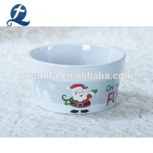 Bandeja para hornear de gres mini con logotipo personalizado Platos redondos de cerámica para hornear pan