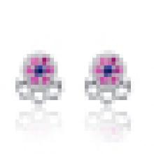 Women′s Fashion 925 Sterling Silver Angel Earrings