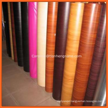 Wholesale Self Adhesive Texture PVC Wooden Grain Effect Wooded Film