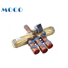 With 9 years manufacture supply air conditioner brass 4 way reversing valve