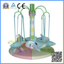 Equipamento Elétrico do Playground Golfinhos Rotativos Playground