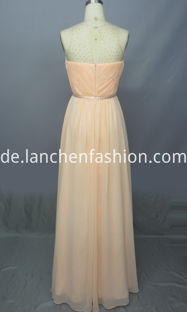 Chiffon Bridesmaid Dress Long