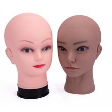 Cosmetology Manikin Bald Doll Head For Wig Making