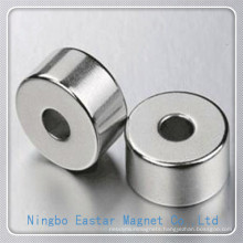 N40 D30*D10*12 Nickel Plating NdFeB Ring Magnet