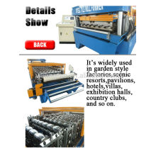 color steel roof sheet machine with high quality