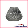 customized LED ceiling lamp housing casting body with painting