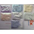 Polvo de brillo de cambio de color fotocrómico brillo / luz solar