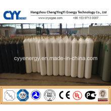 Cylindre à gaz composée à l'argon à l'oxygène à haute pression 40L