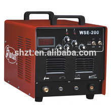 INVERTER PORTÁTIL SUPER 200P ALUMINUM WELDING MACHINE PULSE AC DC soldador TIG