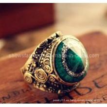 Anillo de joyería / anillo de dedo / moda anillos / ojos forma joyería de moda (xrg12058)