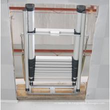 Faltleitern Feature- und Faltabschnittsstruktur Loft Ladder