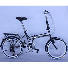 New Design 20inch Alloy 8 Speed Folding Bicycle