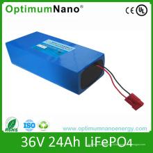 Paquet de batterie de lithium de 36V 25ah pour le vélo électrique