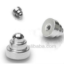 Pièces de bijoux pour corps Pièces de rechange pour haltères en acier chirurgicales