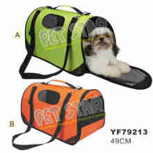 Oxford Fabric Pet Carrier Bag, Color Assorted