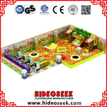 Shopping Mall Indoor Playground with Huge Ball Pit and Trampoline