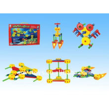 Puzzle space catena blocks toys