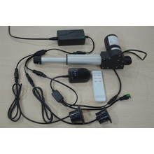 Linear actuator motor for commercial massage chair