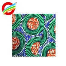 En gros polyester super africain cire impression textile à la maison tissu